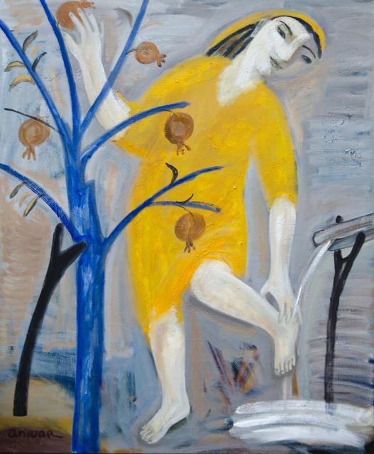 , 'Bathing,' 2015, Galerie Lilja Zakirova
