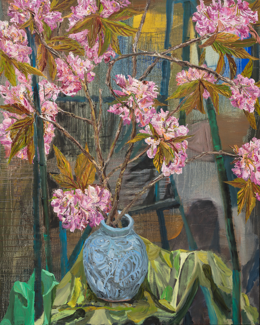 , 'Pink Cherry Blossom,' 2017, Oliver Sears Gallery