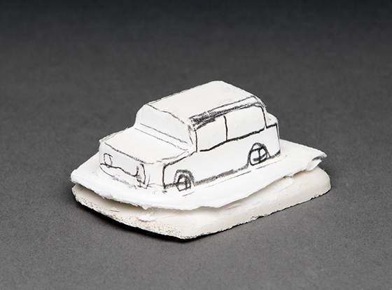 , 'Tiny Car,' 2017, Conduit Gallery