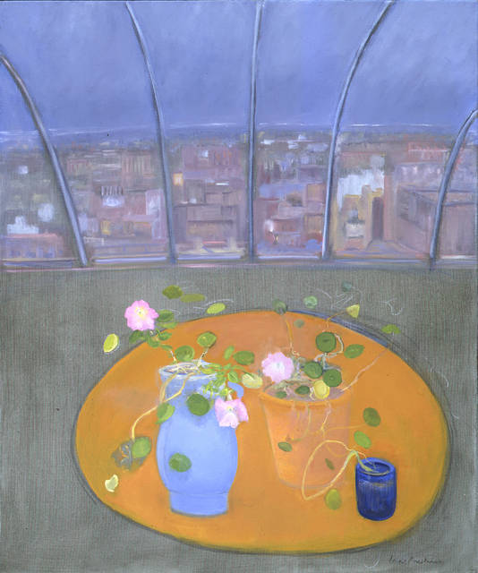 Jane Freilicher, 'Nasturtiums and Petunias II', 2003, Tibor de Nagy