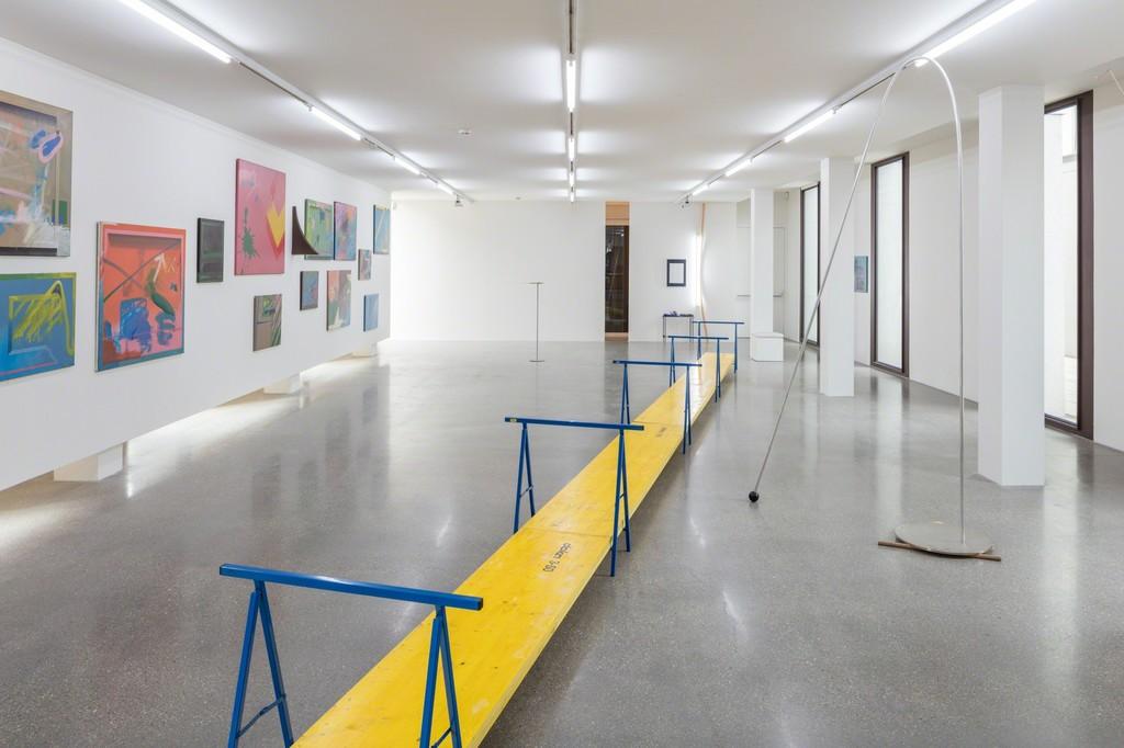 Exhibition View Roland Kollnitz / Hermann Bayer - Chance Acquaintance, Photo: © Belvedere, Vienna, 2017