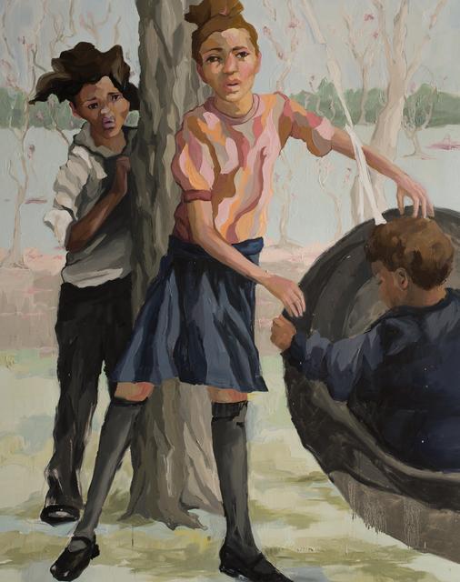Ruth Owens, 'Tag-A-Long', 2019, Painting, Oil on canvas, Jonathan Ferrara Gallery