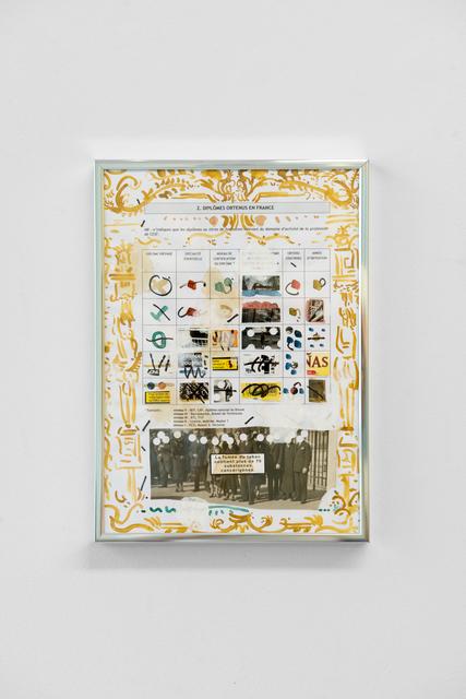 , 'Le snack du pigeon No.14,' 2017, Galerie Liusa Wang