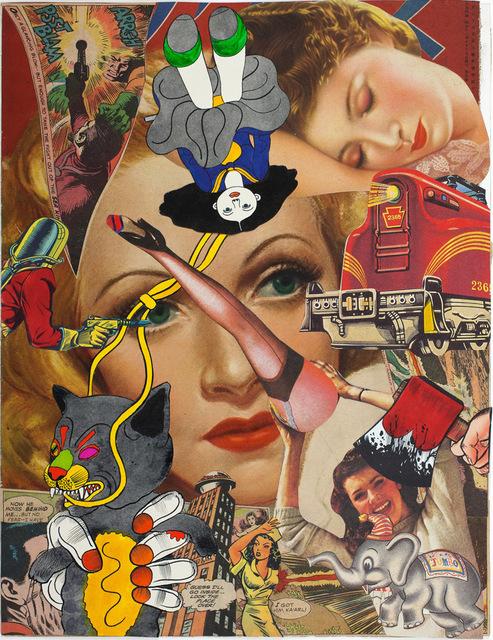 , 'Untitled (Collage Book 5_04),' 1972, Corbett vs. Dempsey