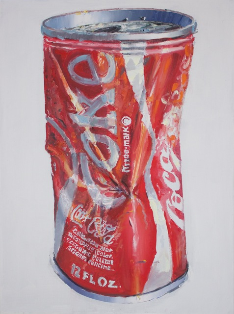 , 'Coke Can,' 2015, Bivins Gallery