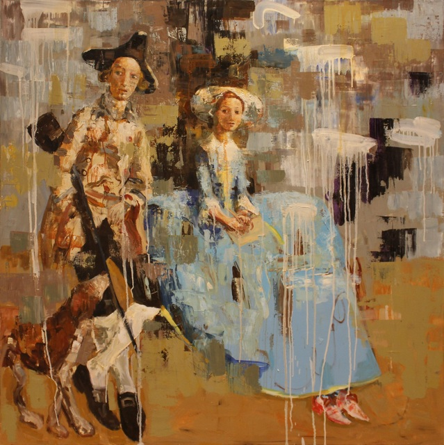 , 'Mr. and Mrs. (After Gainsborough),' 2012, HOHMANN
