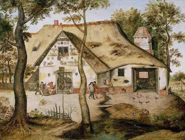 Pieter Bruegel the Younger, 'The St. Michel Inn', 1619, De Jonckheere