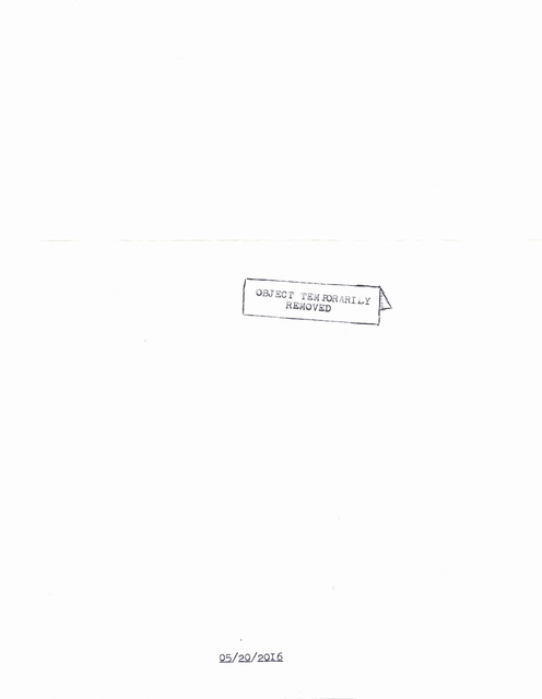 """, '""""Object Temporarily Removed"""" in the series """"Typewriter Drawings"""",' 2016, Catharine Clark Gallery"""