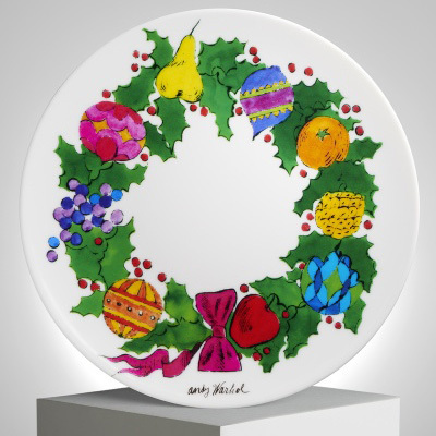 Andy Warhol, 'Christmas Wreath Plate by Andy Warhol', 2018, Artware Editions