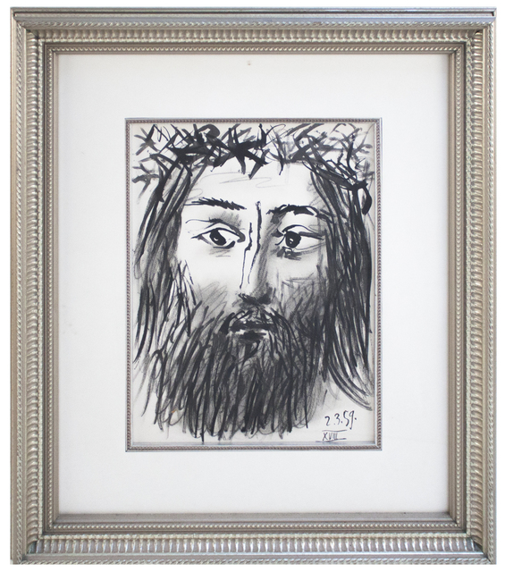Pablo Picasso, 'Portrait of Christ', 1962, ArtWise