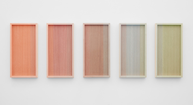 , 'Untitled (Orange to Green Progression),' 2018, PRAZ-DELAVALLADE