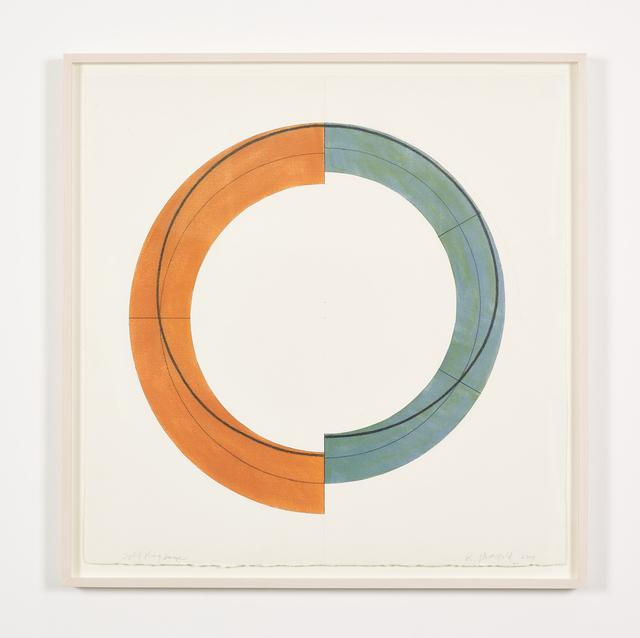 , 'Split Ring Image,' 2009, Galerie Greta Meert