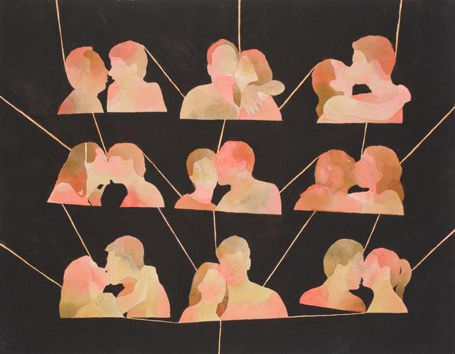 , 'Kissing Tree,' 2012, FMLY