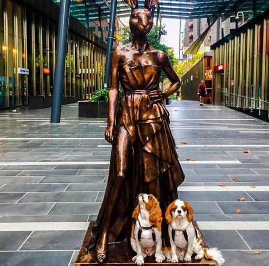 , 'Angelina Rabbitgirl – Emporium, Melbourne & St Kilda Pier, Melbourne,' , Gillie and Marc Art Gallery