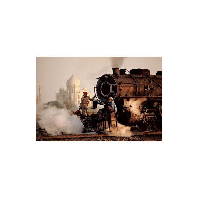 , 'Taj and Train, India,' 1983, Peter Fetterman Gallery