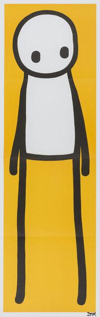 Stik, 'Standing Figure (Yellow)', 2015, Artsnap