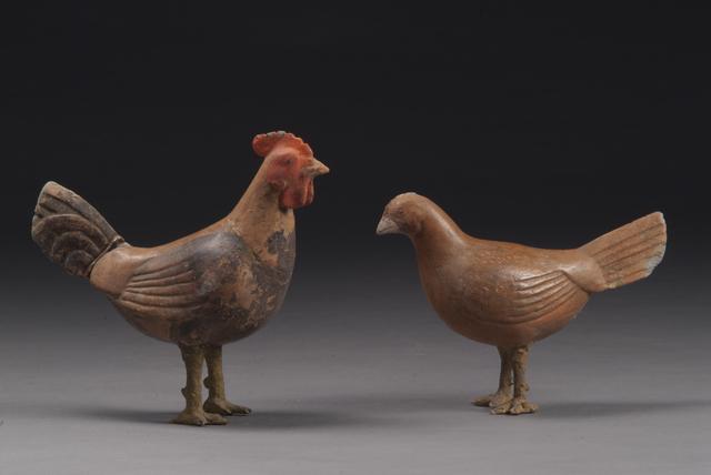 , 'Animal figurines,' 206 BC -9 AD, Musée national des arts asiatiques - Guimet