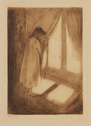 The Girl at the Window (Das Mädchen am Fenster)