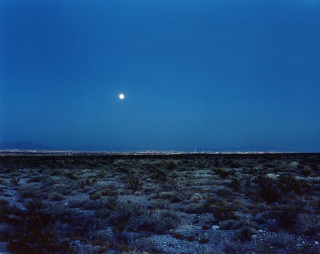 Robert Voit, 'Moonrise ove Las Vegas, Nevada, USA', 2006, Galerie Peter Sillem
