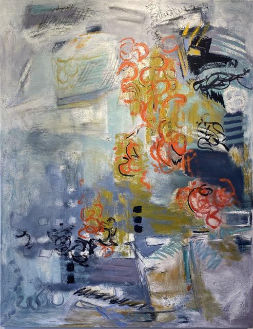 Sherry Giryotas, 'INSIDE THE ARBOR', 2020, Painting, Oil on canvas, Judy Ferrara Gallery