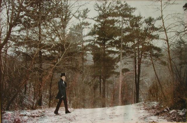 Luigi Ontani, 'Gentiluomo nella foresta', 1979, Galleria Alessandro Bagnai