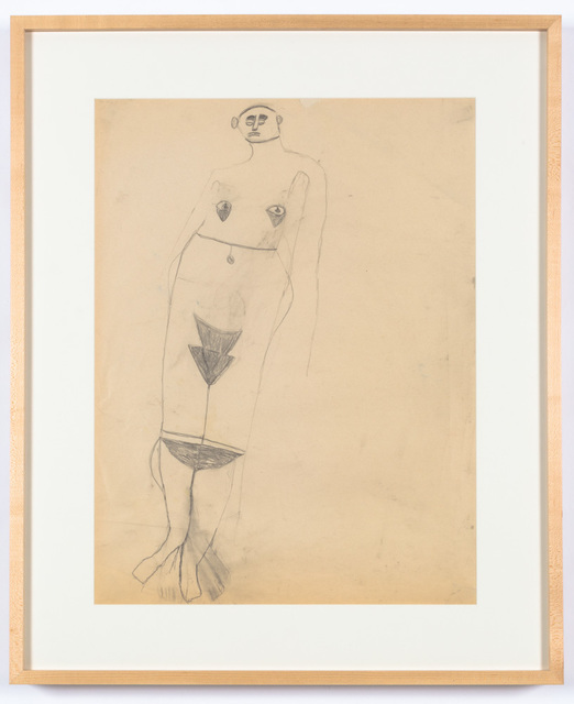 , 'Naked Woman From the Steele Art Collection,' 2011, Creativity Explored