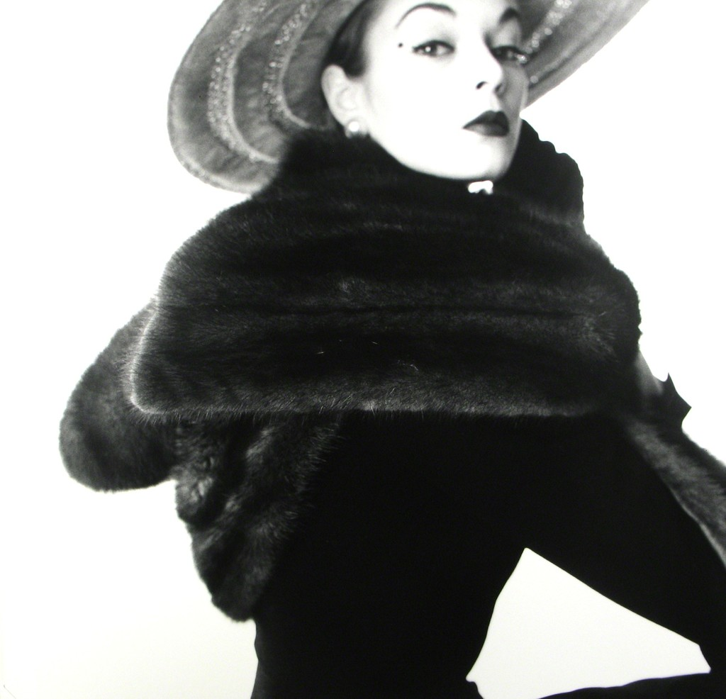 Dior Fur Scarf - Jean Patchett, New York
