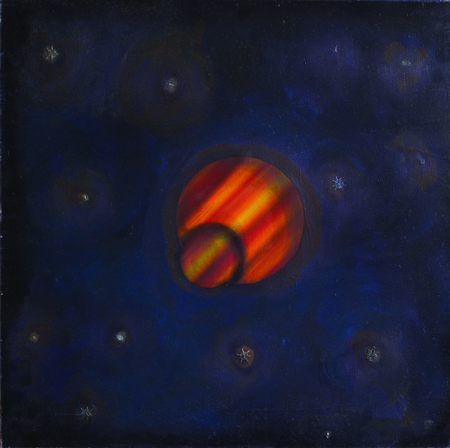 ", '#11 from the series ""Planets"",' , Gallery 21"