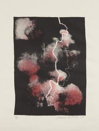 David Hockney, 'Smaller Study of Lightning,' 1973, Phillips: Evening and Day Editions (October 2016)