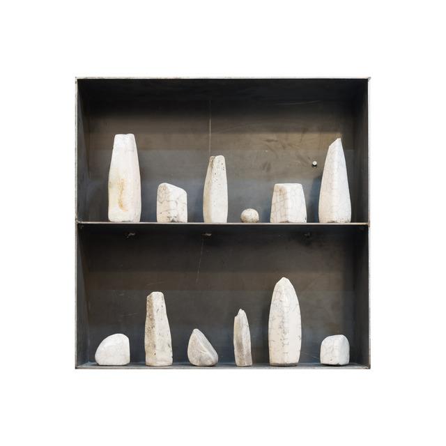 , 'Caja # 5R Servicio Geológico Ápex,' 2017, Salón Comunal