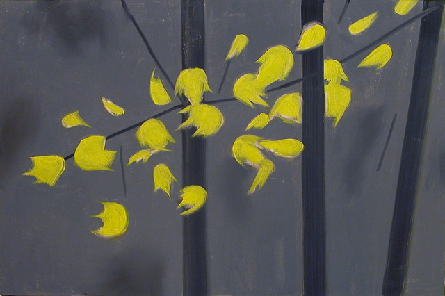 , 'Yellow Leaves 2,' 2006, Peter Blum Gallery