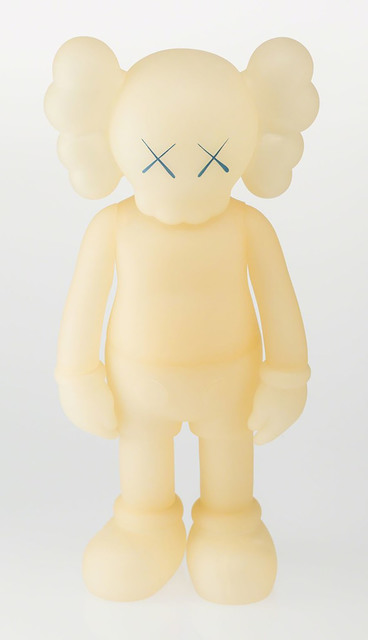 KAWS, '5 Years Later (5YL) Companion Glow In The Dark Blue', 2004, Sculpture, Painted Cast Vinyl, Marcel Katz Art