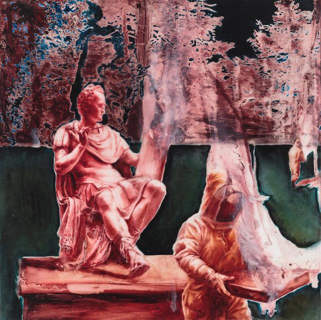 , 'Canova's Sculpture Burning,' 2018, ArtHelix Gallery