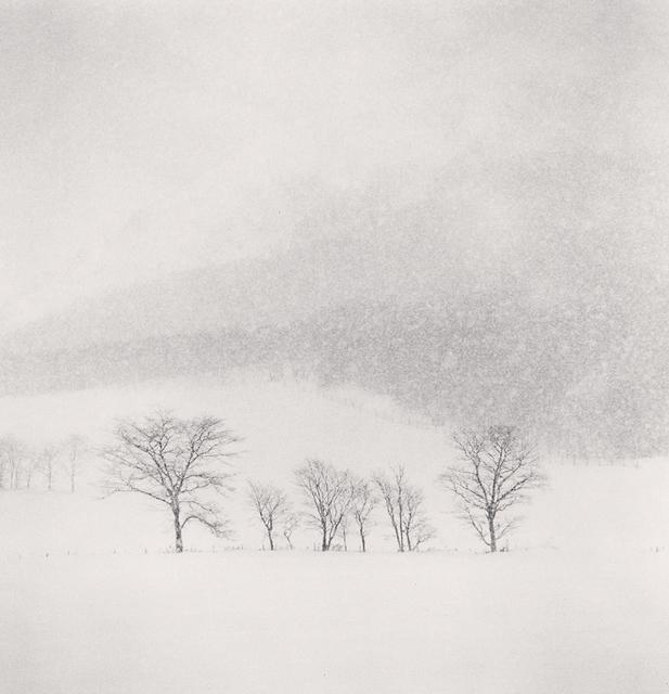 , 'Mountain Snow Storm, Okushunbetsu, Hokkaido, Japan,' 2013, G. Gibson Gallery