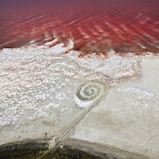 , 'Spiral Jetty 1 Great Salt Lake, Utah, 2017 ,' 2017, Bau-Xi Gallery