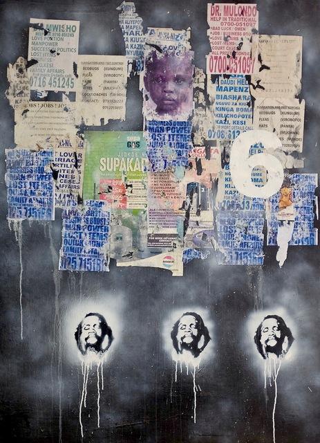, '6 (Talking Walls),' 2016, ARTLabAfrica