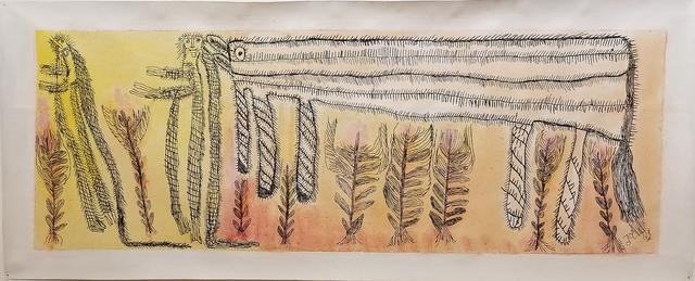 , 'Untitled (Monos y Caballo),' 2017, Creativity Explored