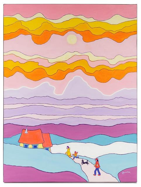 Ted Harrison, 'Happy Clouds', 1980, Hindman