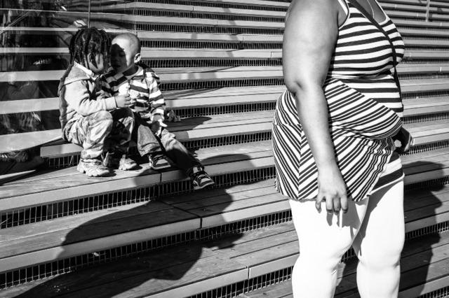 , 'Stripes & Kisses, Chicago,' 2015, Gallery Victor Armendariz