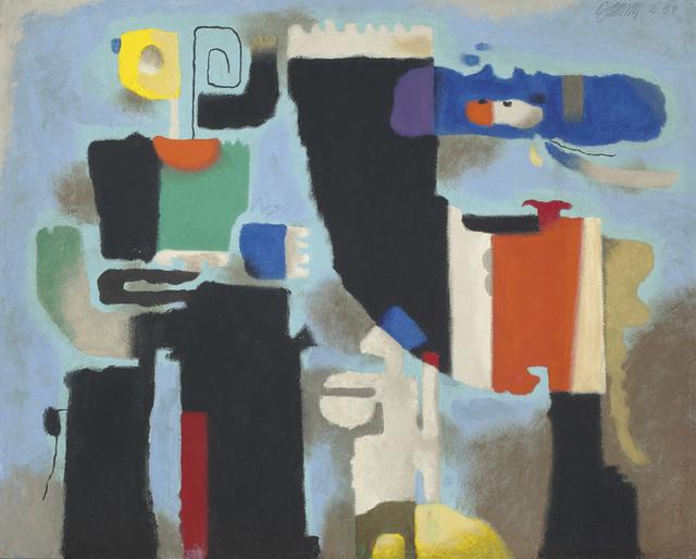 , 'Kessaua statuarisch,' 1954, Ludorff
