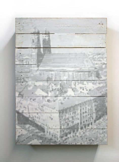 Bananensprayer Thomas Baumgärtel, 'München', 2009, Galerie Kronsbein