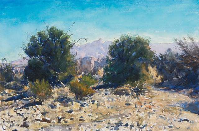 , 'Above Bridge at Tornillo Creek,' 2018, Valley House Gallery & Sculpture Garden