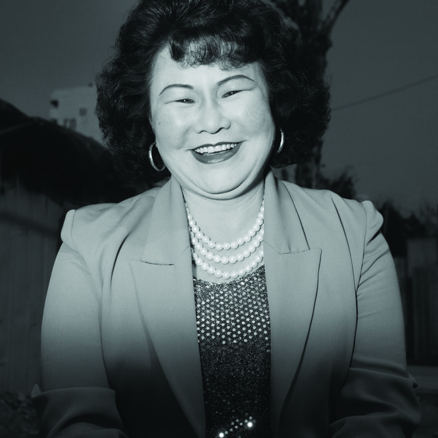 , 'Ajumma wearing a pearl necklace, February 25,' 1997, CHOI&LAGER