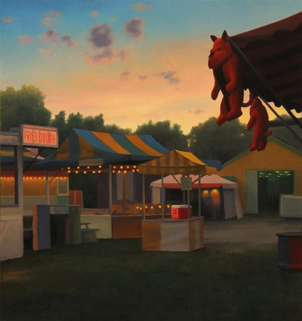 , 'Twilight at the Fairgrounds,' 2015, Somerville Manning Gallery