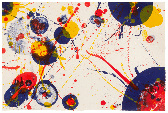 Sam Francis, 'Untitled (Plate 7 from Pasadena Box)', 1964, Hindman