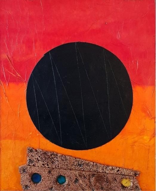 Roberto Crippa, 'Untitled', (Seventies), Mixed Media, Collage on board, Aste Boetto