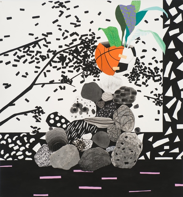 , 'orange abstract,' 2014, 101/EXHIBIT