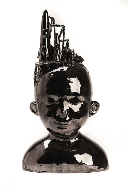 , 'Head of Boy With Rockets,' 2016, Abmeyer + Wood Fine Art