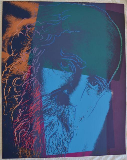 Andy Warhol, 'Martin Buber II.228 from Ten Portraits of Jews of the Twentieth Century portfolio', 1980, Hamilton-Selway Fine Art