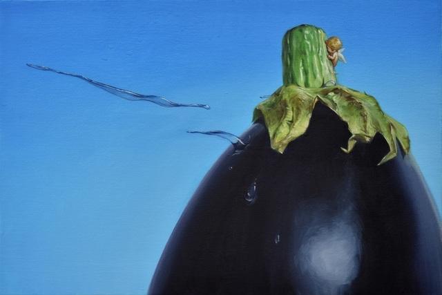 , 'an eggplant,' 2018, Gallery Seizan